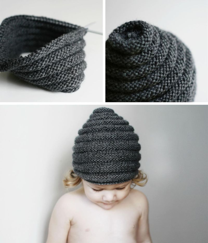 Beehive Beanie pattern. (Would love to do this in a