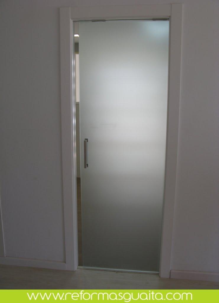 Puertas corredera cristal interior buscar con google - Puerta corredera cristal bano ...