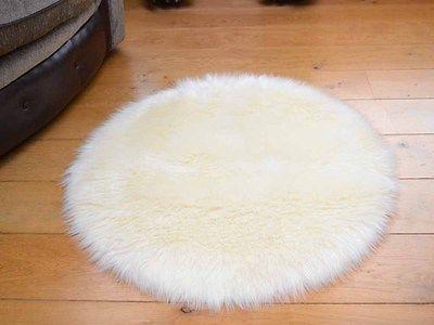 Small-Plain-Circle-Round-Circular-Circles-Soft-Fluffy-Fake-Sheepskin-Rugs-Cheap   SheepskinRugs 435523988faf