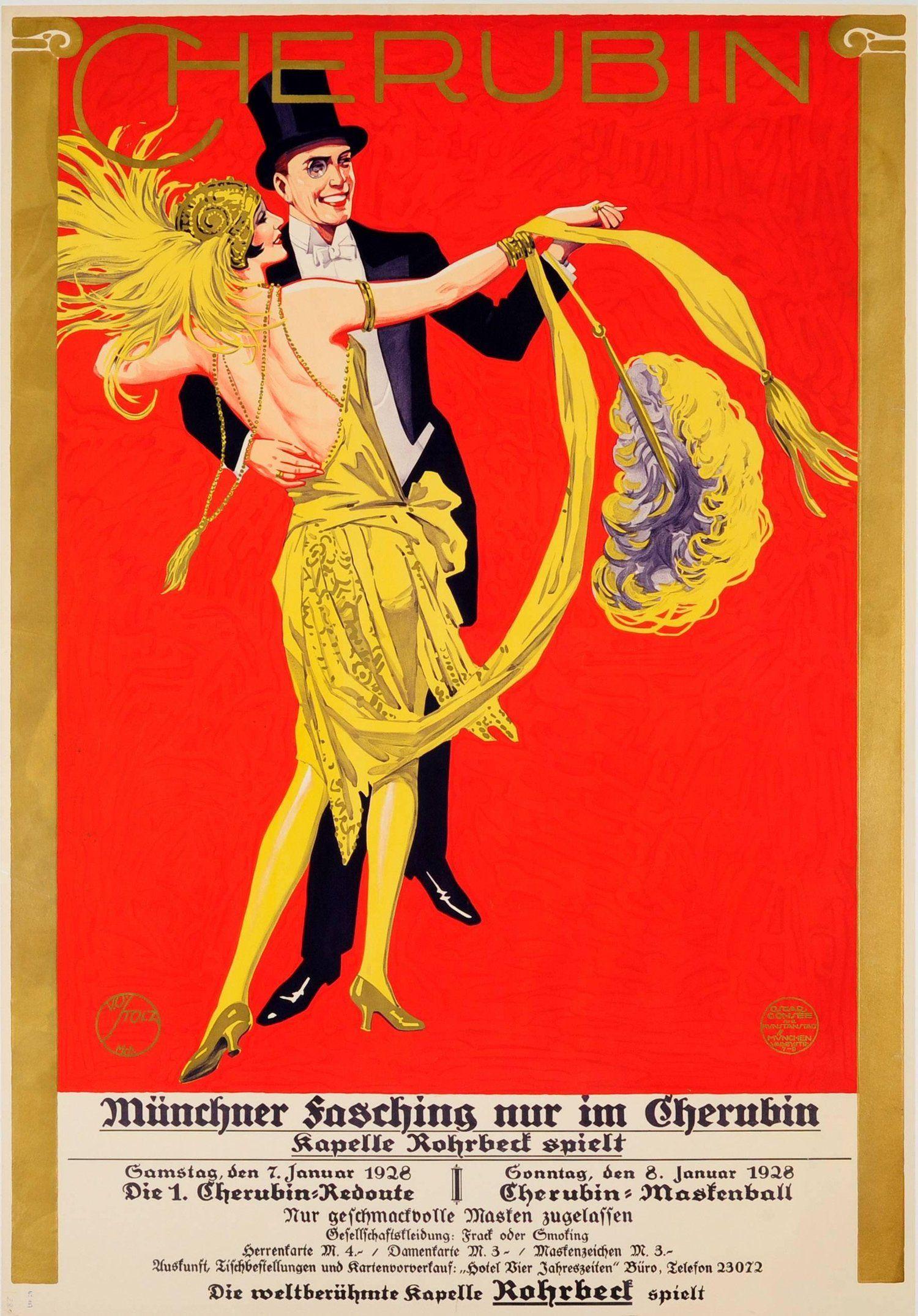 Vintage Posters Dance