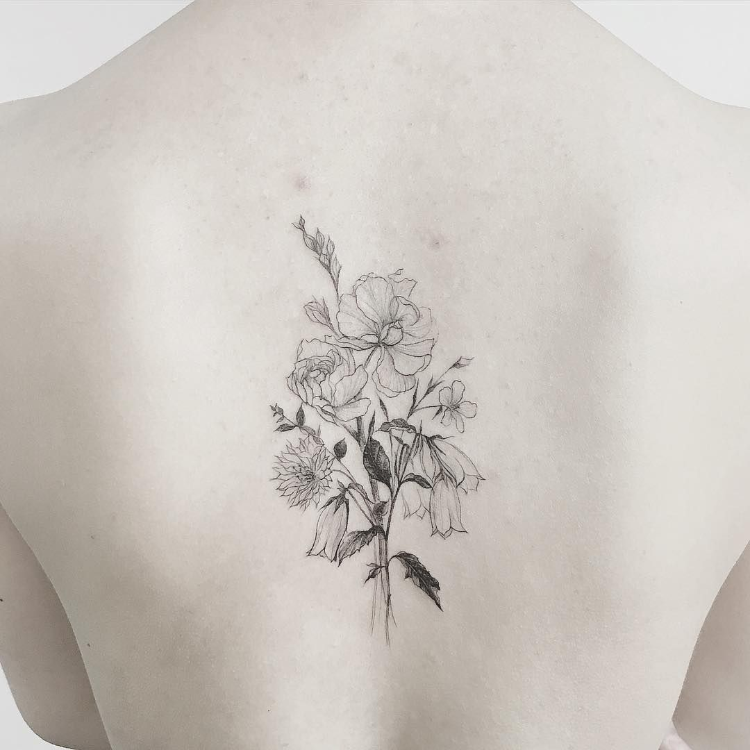 #tattoo#tattoos#tattooing#tattoowork#tattooart#flowertattoo#blackwork#타투#꽃타투#여자타투#타투이스트꽃#tattooistflower closeup family flowers