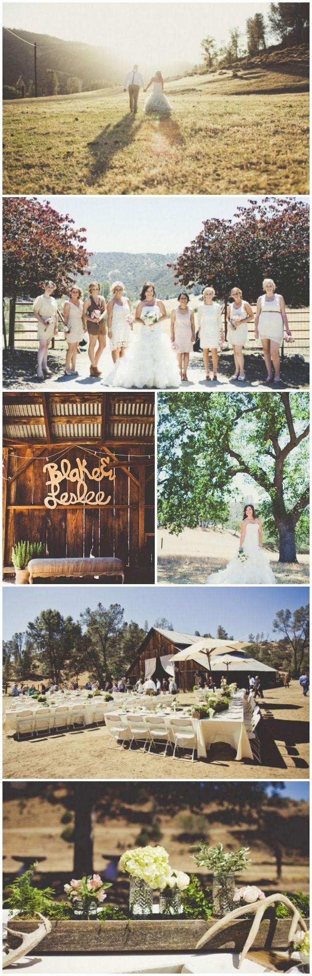 Country Rustic Barn Wedding