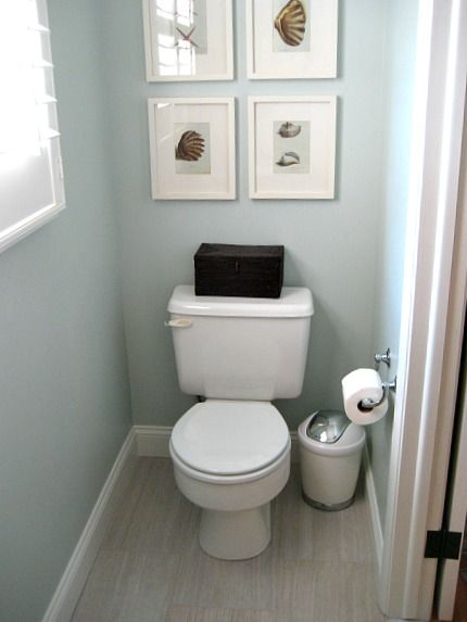 12x24 Tile Installation In Our Powder Room Powder Room Small