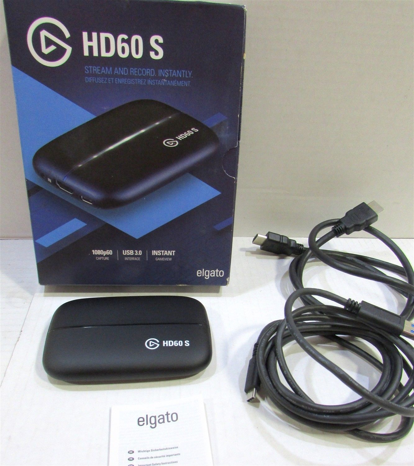 Elgato Game Capture HD60 S USB 3 0 for PS4 Xbox One and