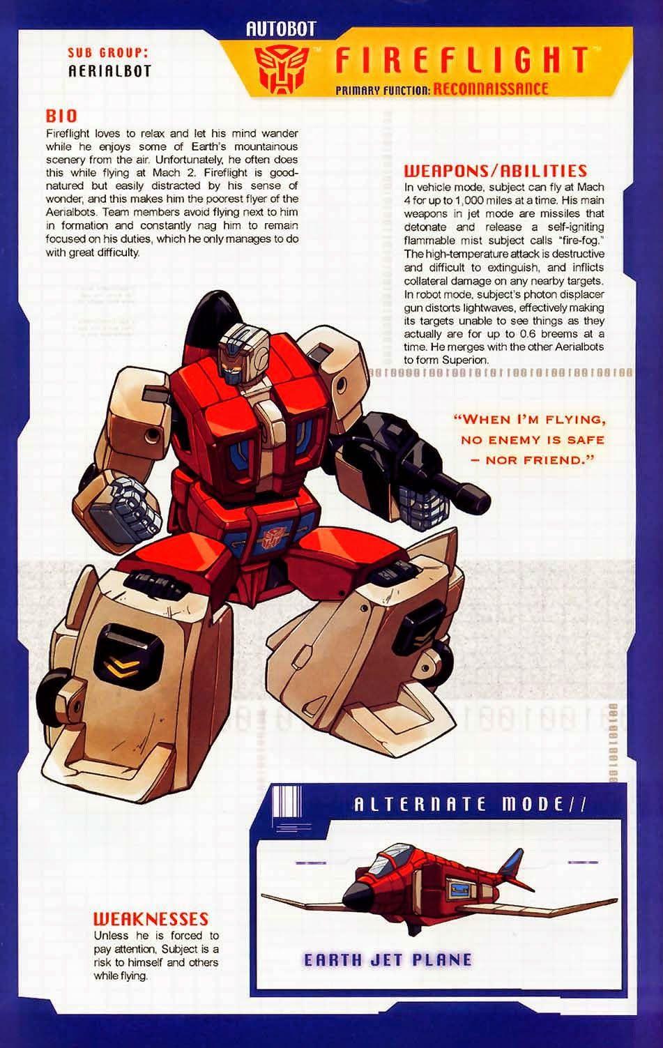 Transformer of the Day: Fireflight