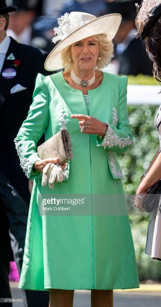 Camilla, Duchess of Cornwall attends Royal Ascot Day 2 at ...