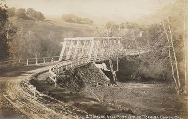 Bridge,Topanga Canyon,California.