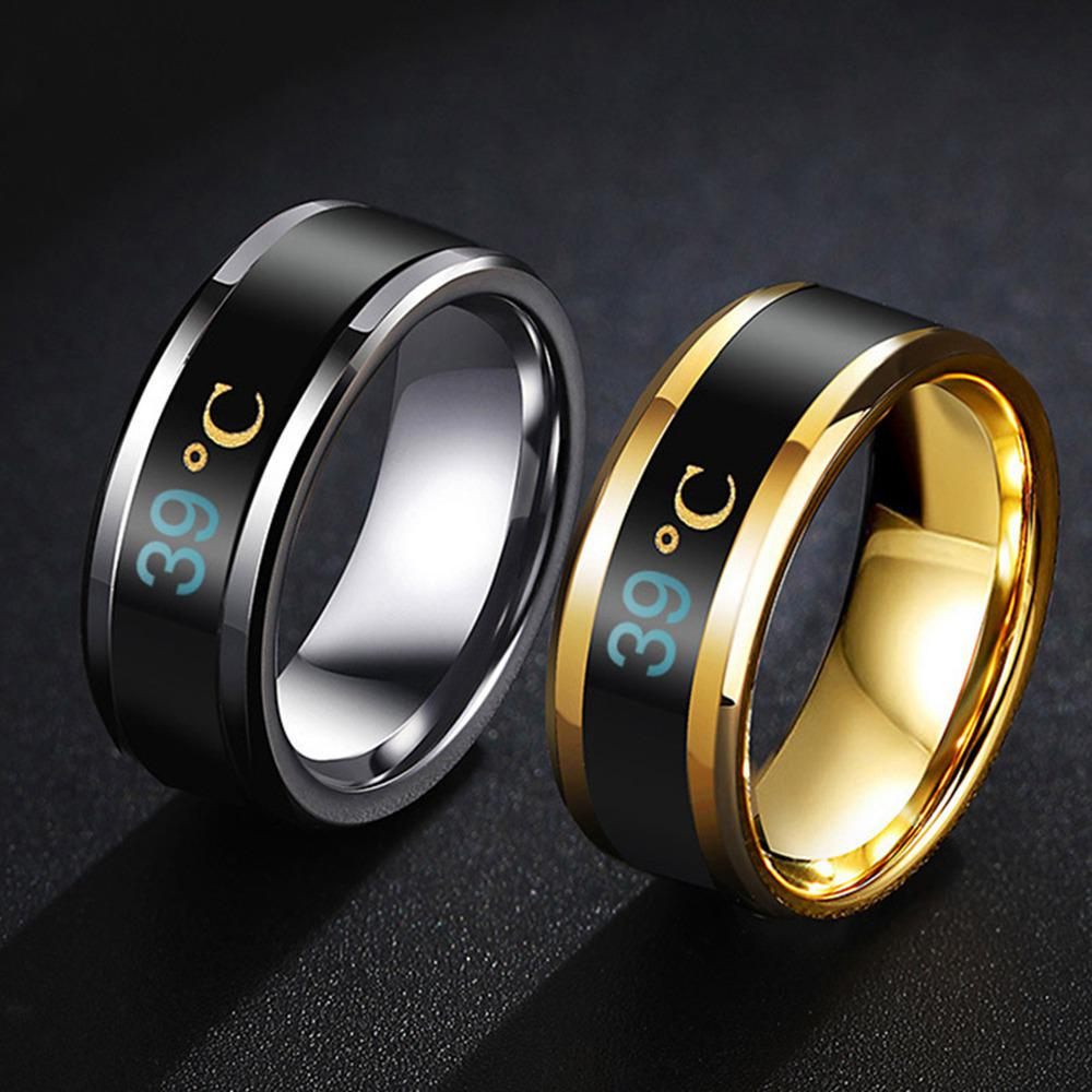 Accessories USUASI TSSP-177 Smart Ring New Technology Magic Finger for boy/&Girl Smart Temperature Lovers Rings