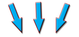 Signatures For Your Emails Arrow Pointing Down Signature Arrow Point