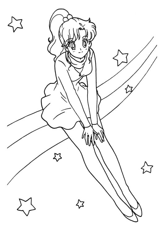 Sailor Moon R Coloring Book 017