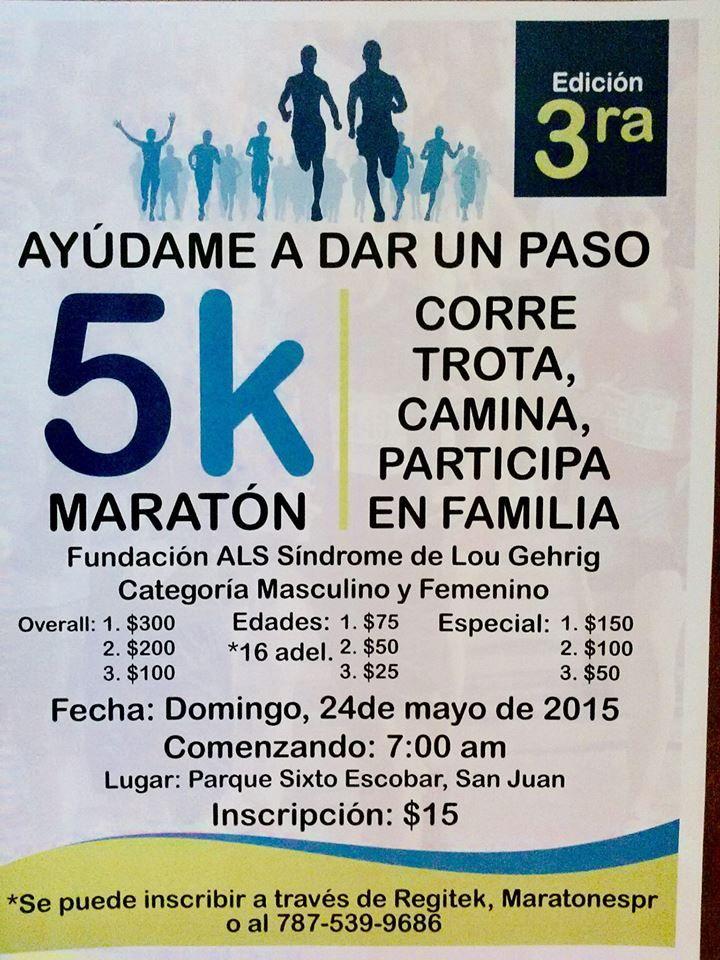5K Maratón Ayúdame a Dar un Paso #sondeaquipr #ayudameadarunpaso #parquesixtoescobar #sanjuan #deportespr