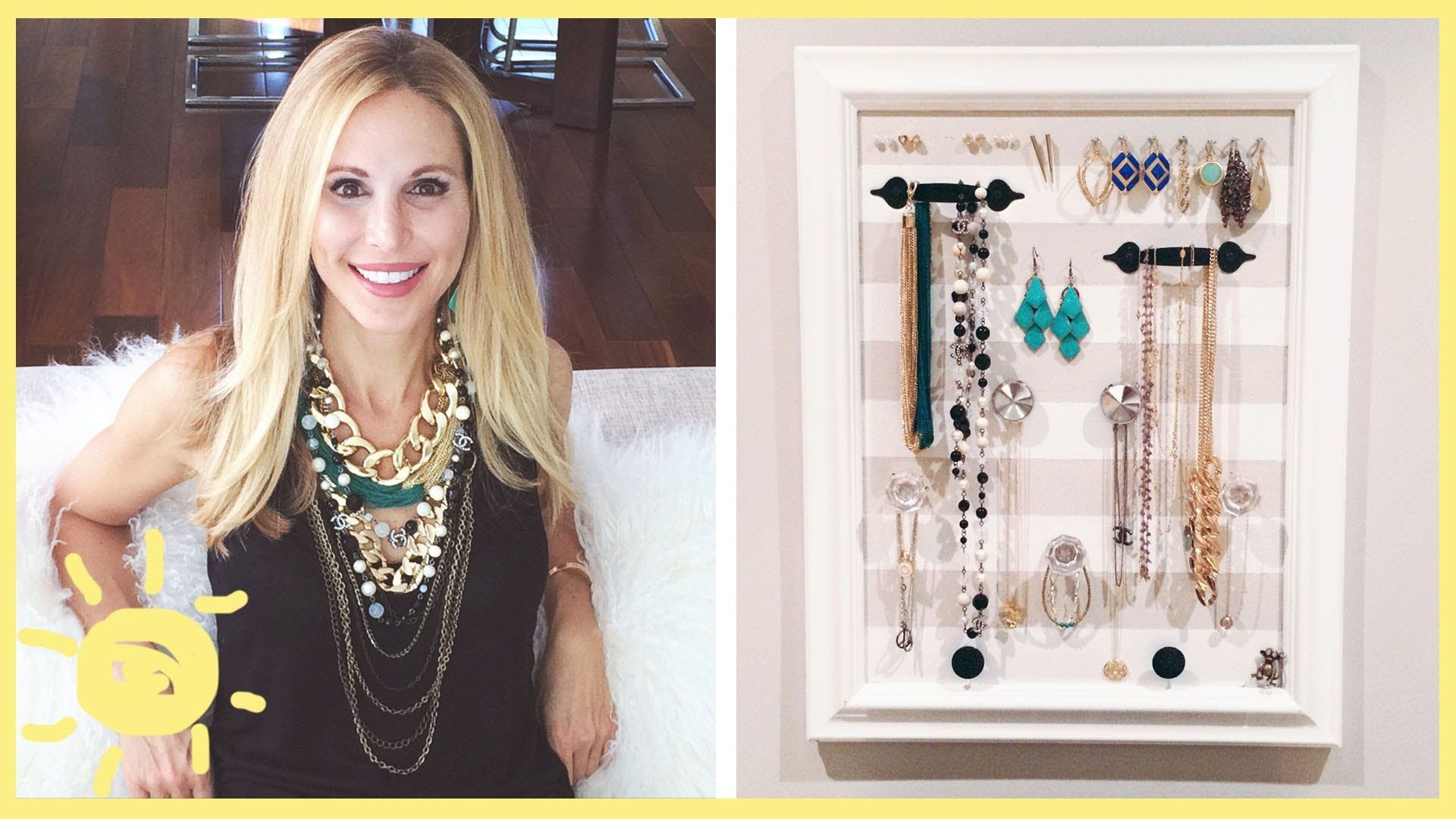 Is your jewelry a scattered and tangled mess You can make this