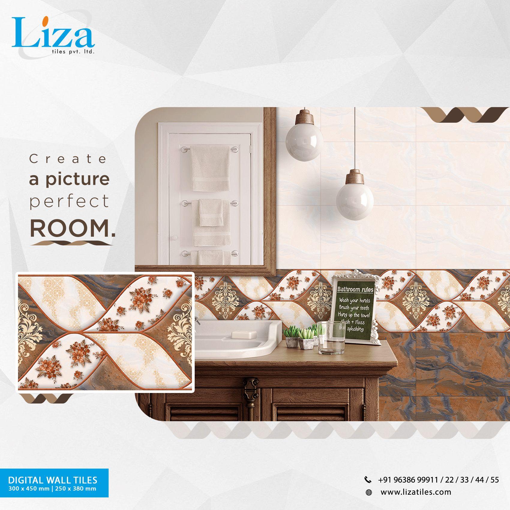 Create A Picture Perfect Room Lizatilespvtltd Manufacturer Walldecor Liza Lizadesigns Housetiles Interiordesig Interior Tiles House Tiles Wall Tiles