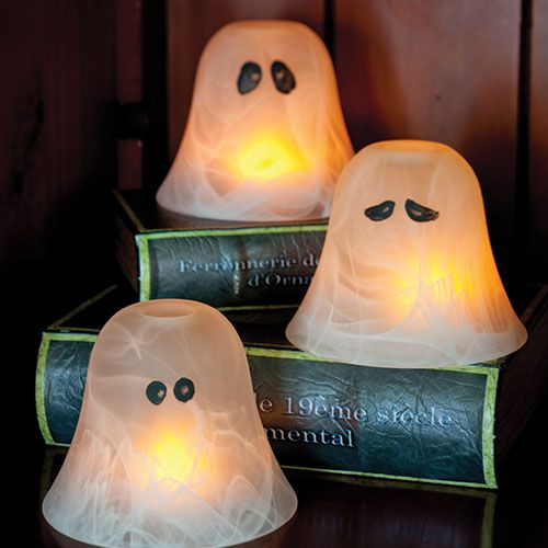 Ghost Globes Peruse The Lighting Aisle At Your Local Home