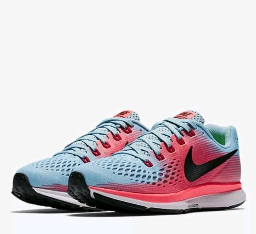da1a5f8f0cca7 Nike Womens Air Zoom Pegasus 34 Athletic Snickers Running Training ...