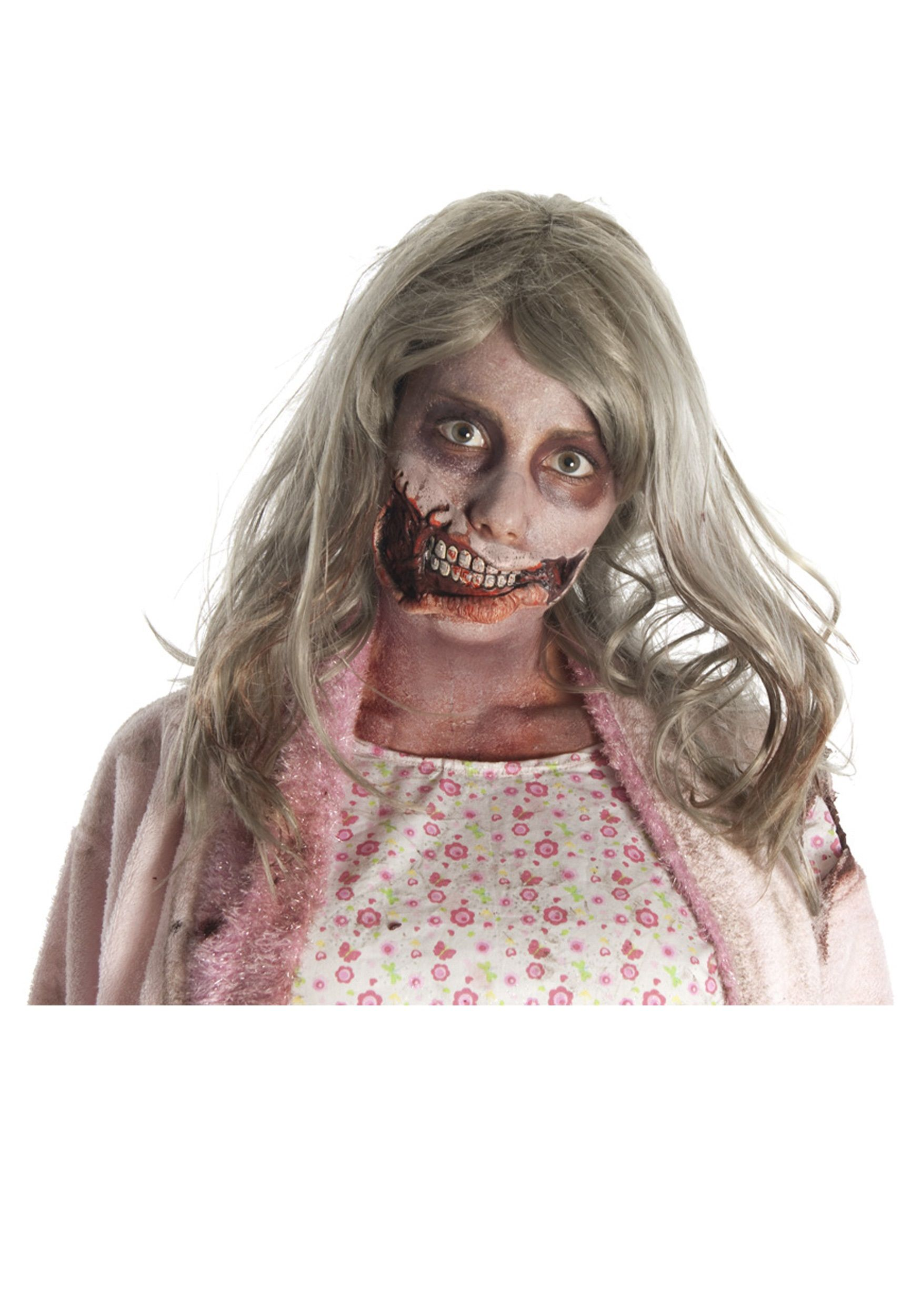 Idea Searches Scary Halloween Costume Ideas Zombie Girl Mouth Mask ...