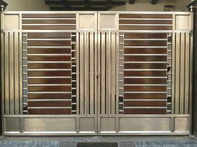 Steel Gate Design, Gate Design