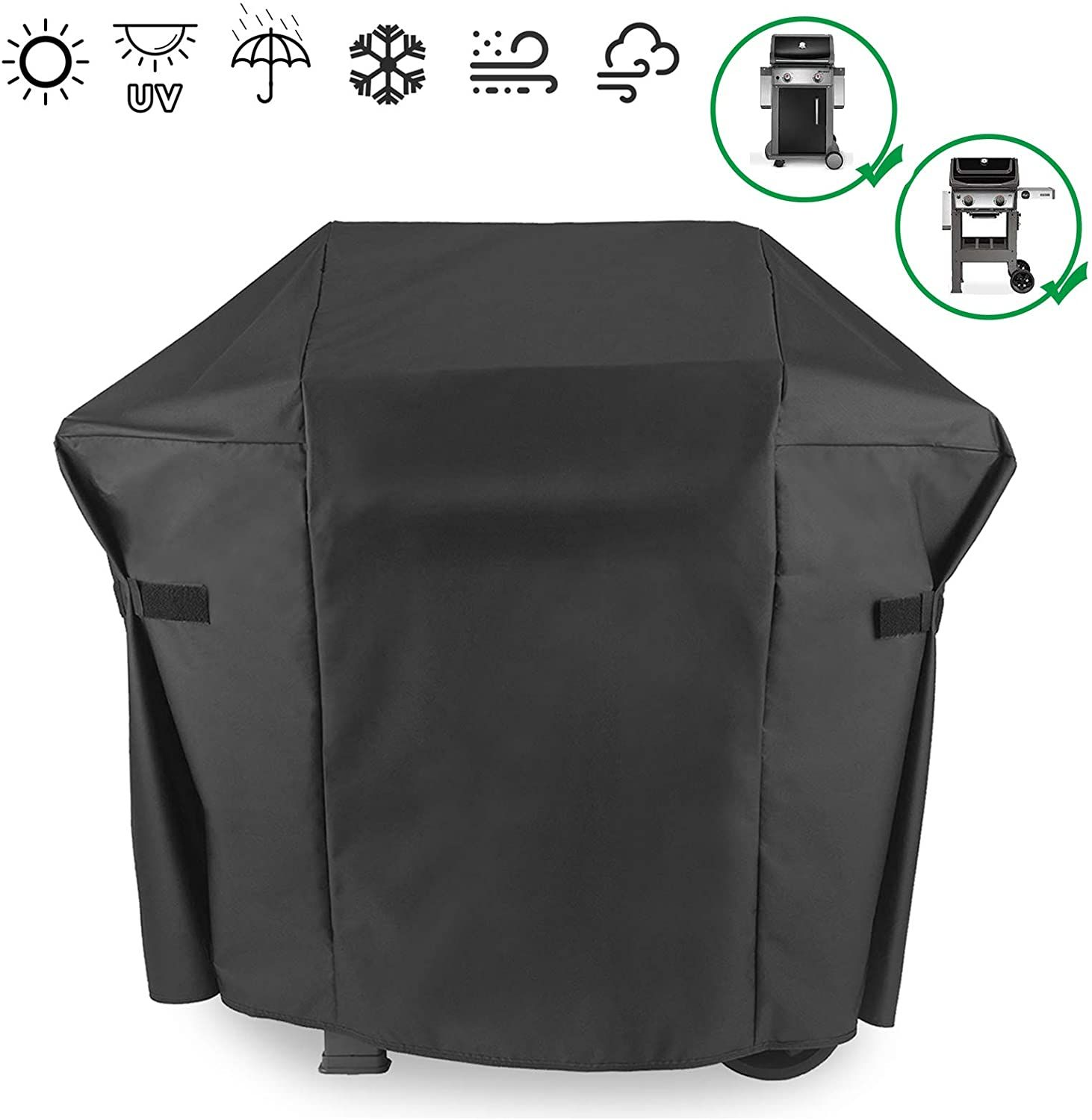 Acquire Early Reviews Hisencn 7138 Premium Grill Cover For Weber Spirit Ii E200 E210 Series Spirit 200 210 Series 2 Burner Gas Gril