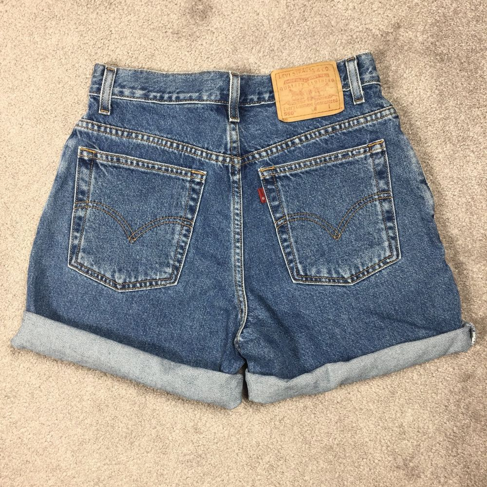 831682ab Vintage LEVIS 550 80s 90s Womens Size 8 High Waist Denim Jean Shorts  Relaxed Fit #Levis #Casual