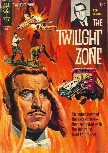Cool Book Cover Zone : Rod serling his mind invaded the secret past then