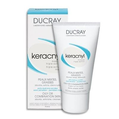 ducray keracnyl masque cr me 40ml pharmacie lafayette. Black Bedroom Furniture Sets. Home Design Ideas