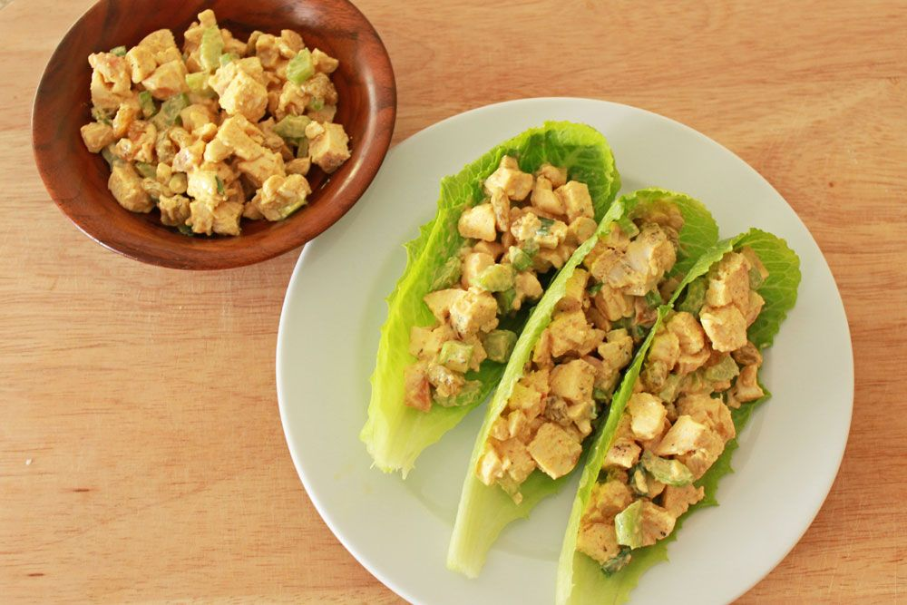 recipe: chicken curry party salad [2]