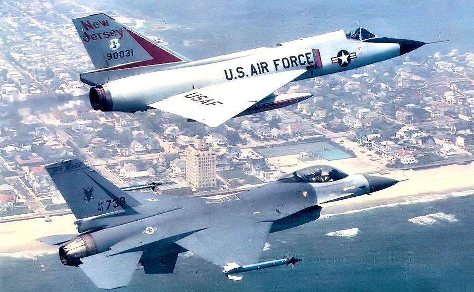 119th Fighter Squadron F 106 F 16 177th Fighter Wing Wikipedia Fighter Fighter Aircraft Military Aircraft