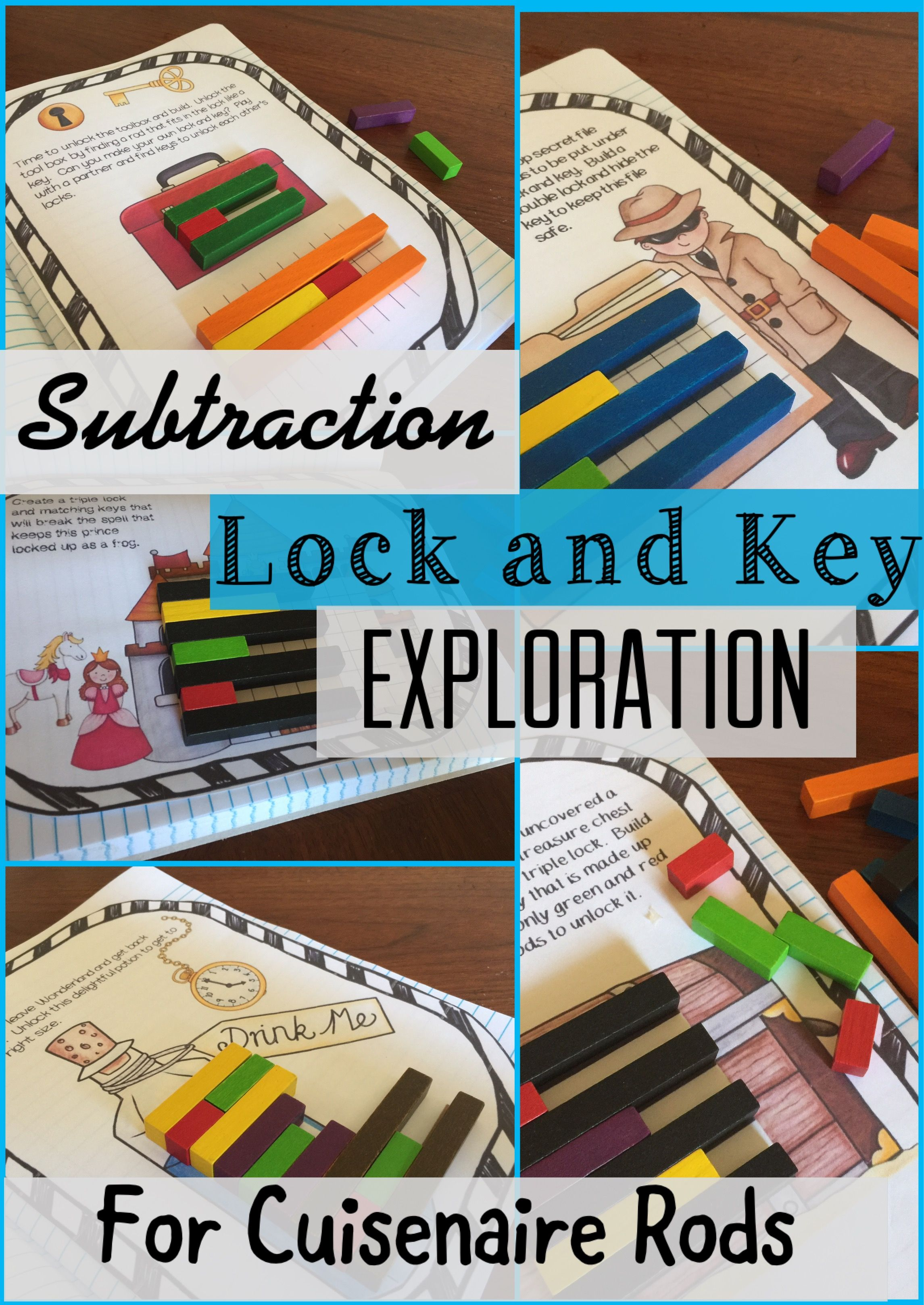 Pdl S Subtraction Lock And Key Exploration For Cuisenaire