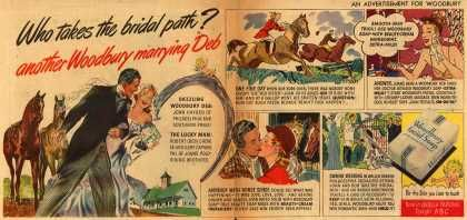 Woodbury's Facial Soap – Who takes the bridal path? another Woodbury marrying Deb (1947)