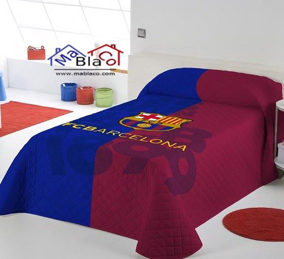 Colcha FC Barcelona Escudo.  0dff3a13869