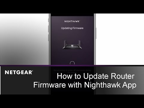 (13) How to Update Router Firmware with the Nighthawk App