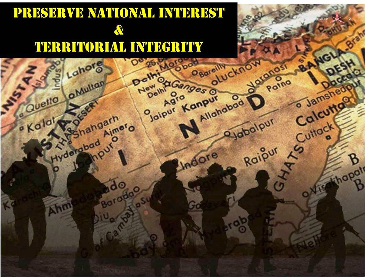 unity and integrity of the nation