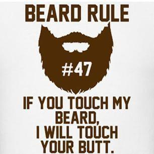 Real men rock beards and do alpha stuff like a true mgtow