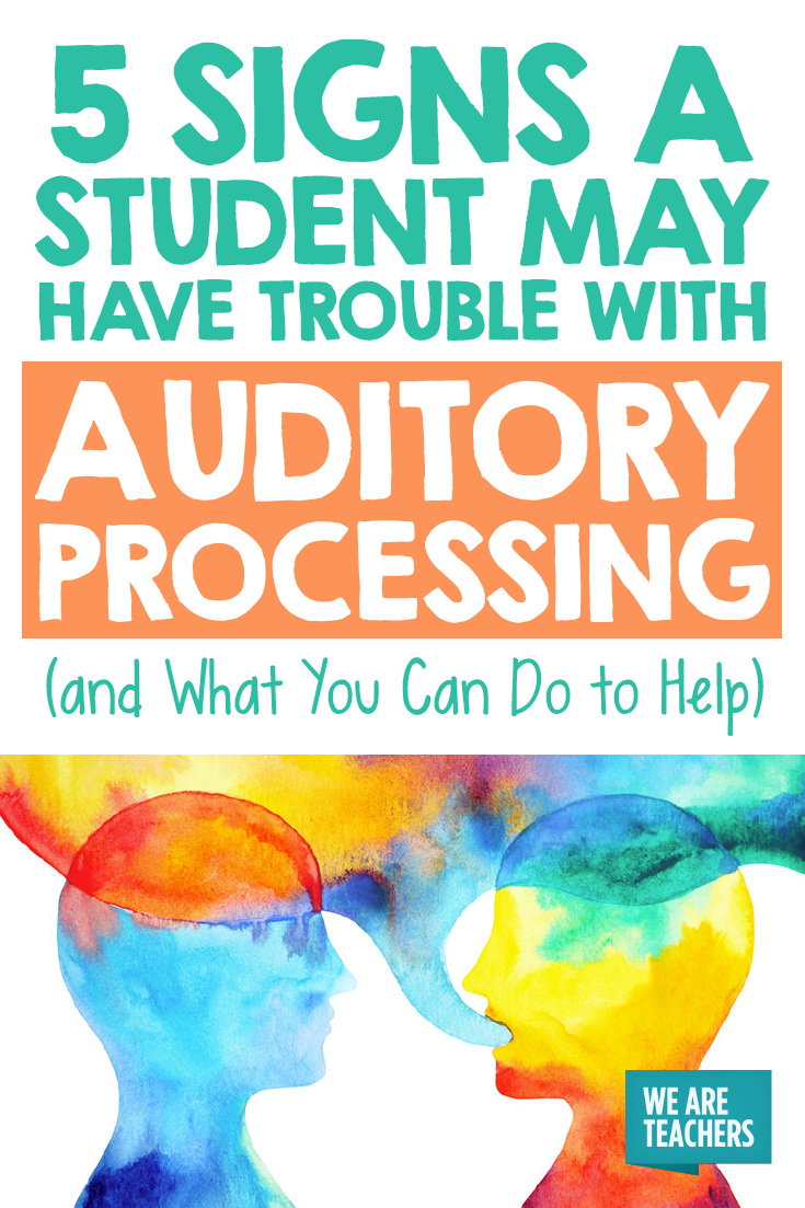 Is Special Education In Trouble >> 5 Signs A Student May Have Trouble With Auditory Processing And