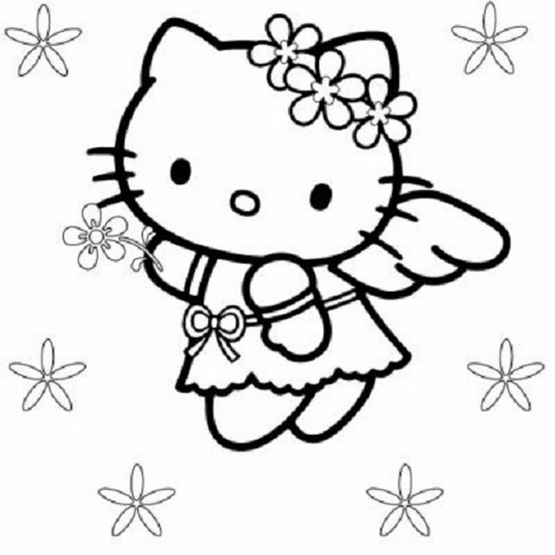 Hello Kitty Coloring Pages Free to Print (64 Picture) 90u0027s Party - fresh hello kitty ladybug coloring pages