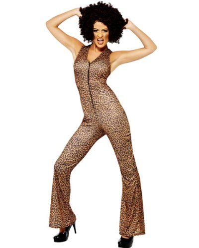 Leopard Pant Set Scary Spice Girls Inspired Adult Costume