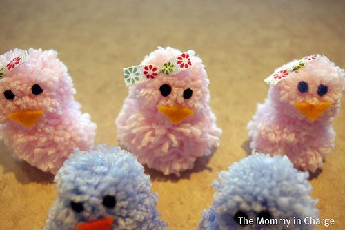 DIY Easter Chickies, Easter Craft