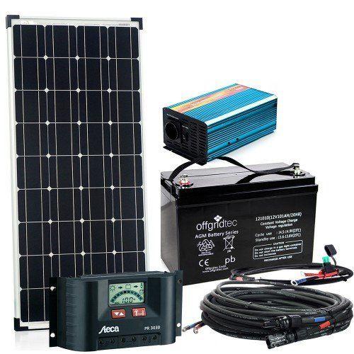 ECO-WORTHY 10 Watt Solarmodule 12 Volt Off Grid Bausatz W  3A - rauchmelder in der küche