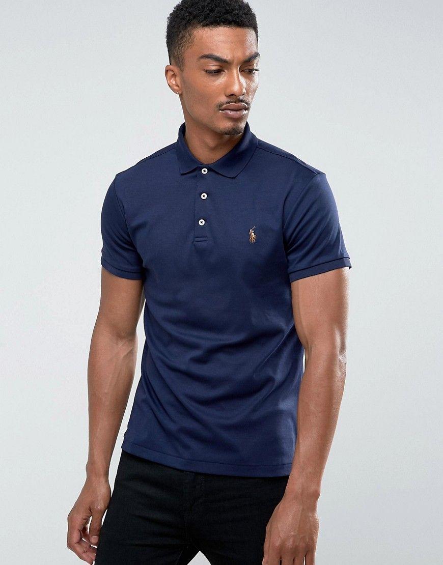 a43ebbac1 Polo Ralph Lauren Polo Shirt Slim Fit Pima Soft Touch