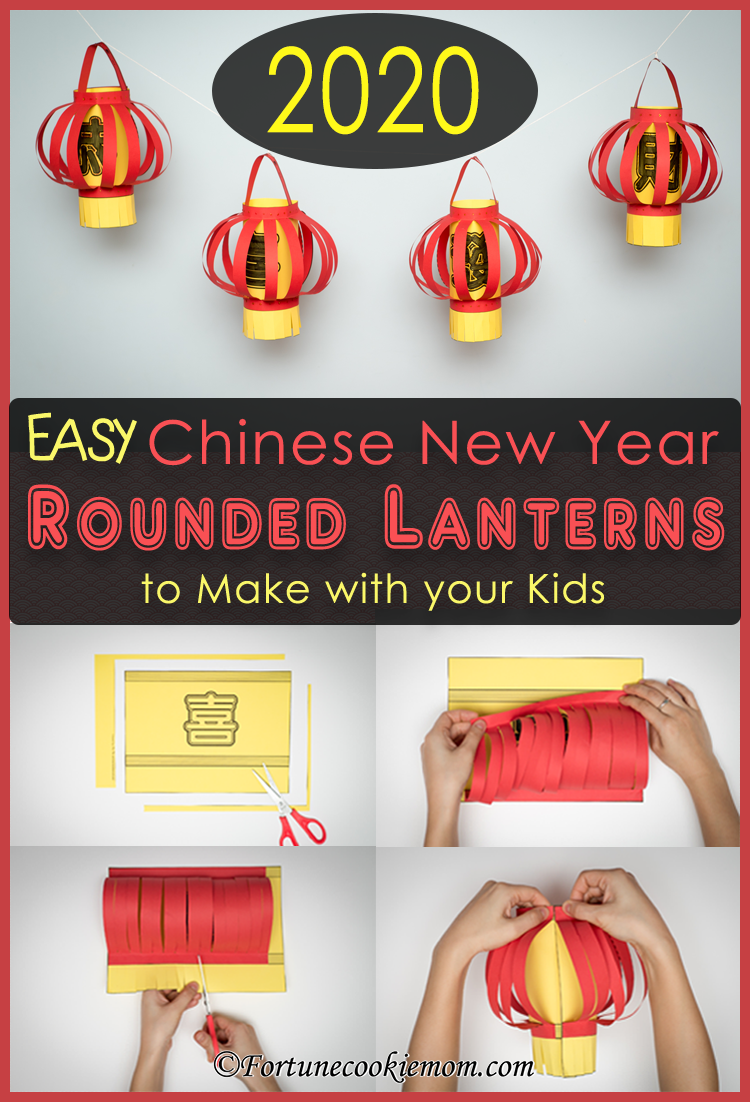 Chinese New Year Rounded Lanterns The Year Of Rat Fortune Cookie Mom In 2020 Chinese Crafts Chinese New Year Chinese New Year Decorations