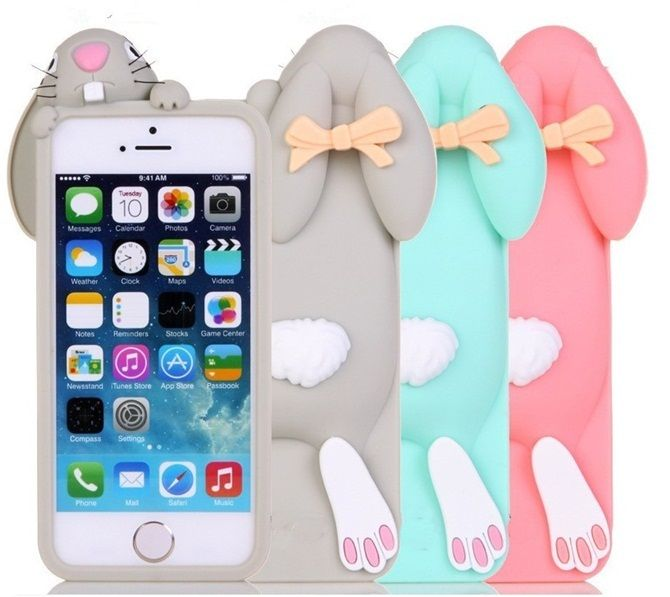 Etui Krolik Zajac Rabbit 3d Futeral Iphone 5 5s 4 Custom Iphone Cases Iphone 5s Cases Food Phone Cases