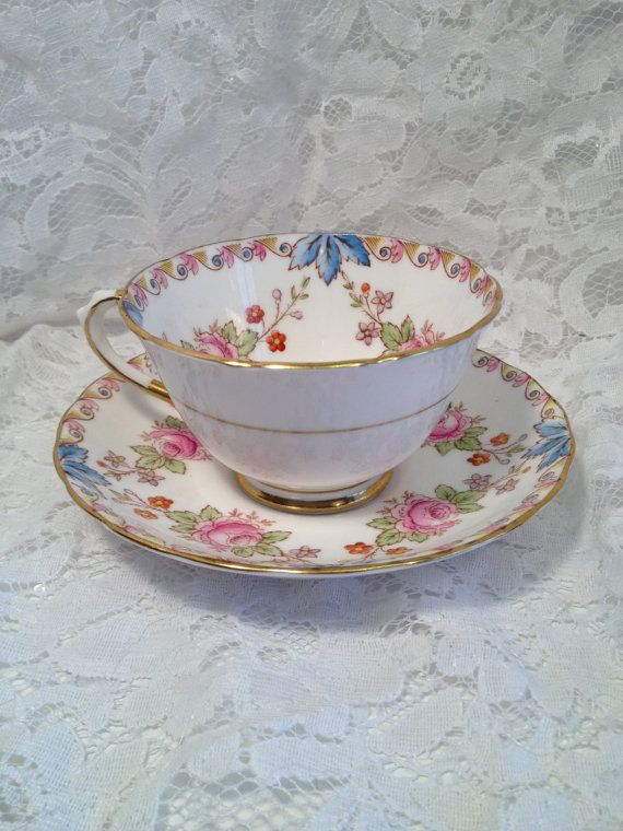 Royal Doulton LACE POINT England Bone China Cup /& Saucer 9 Available
