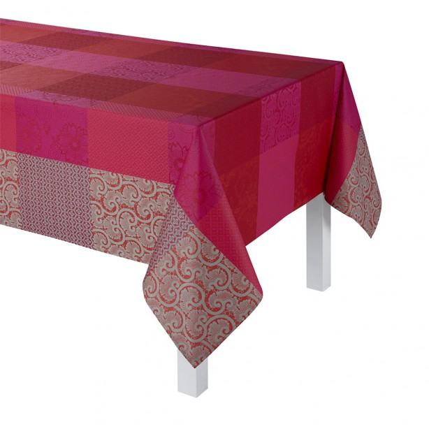 Coated Tablecloth Fleurs De Kyoto Cherry Table Linens Kyoto Table