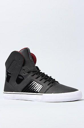 b6dba0c438 The Pilot Sneaker in Black Matte Leather, Black Patent,   Karmaloop ...