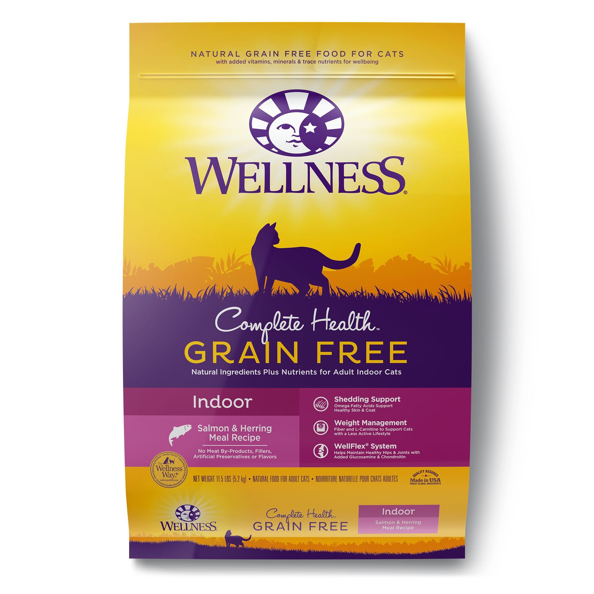 Wellness Complete Health Indoor Cat Food Natural Grain Free