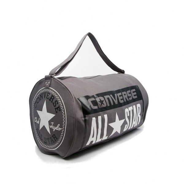 422609897a Converse Chuck Taylor All Star Legacy Duffle Bag Charcoal Free UK... ❤  liked on Polyvore featuring bags, duffel bag, converse bag, duffle bag, star  bag and ...