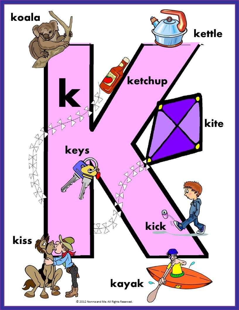 FUN WITH LETTERS K,L,M,N,O Lettering, Number flashcards