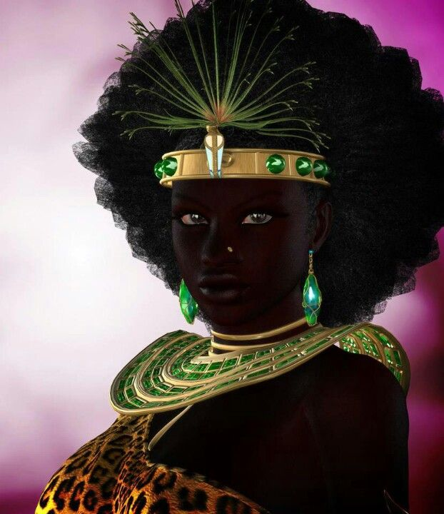 Queen of Sheba Beautiful Black Queens of Kemet.