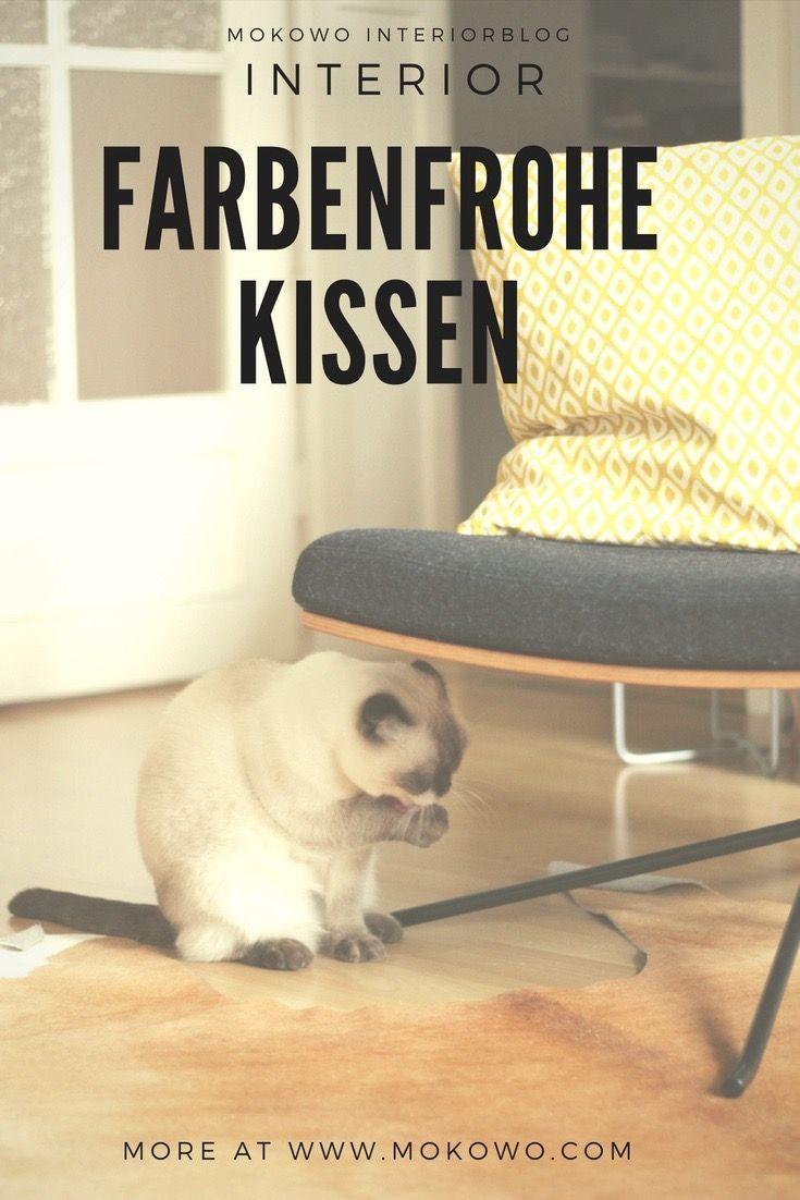 farbenfrohe Kissen auf Deinem Sofa Wohnblog Farbenfroh