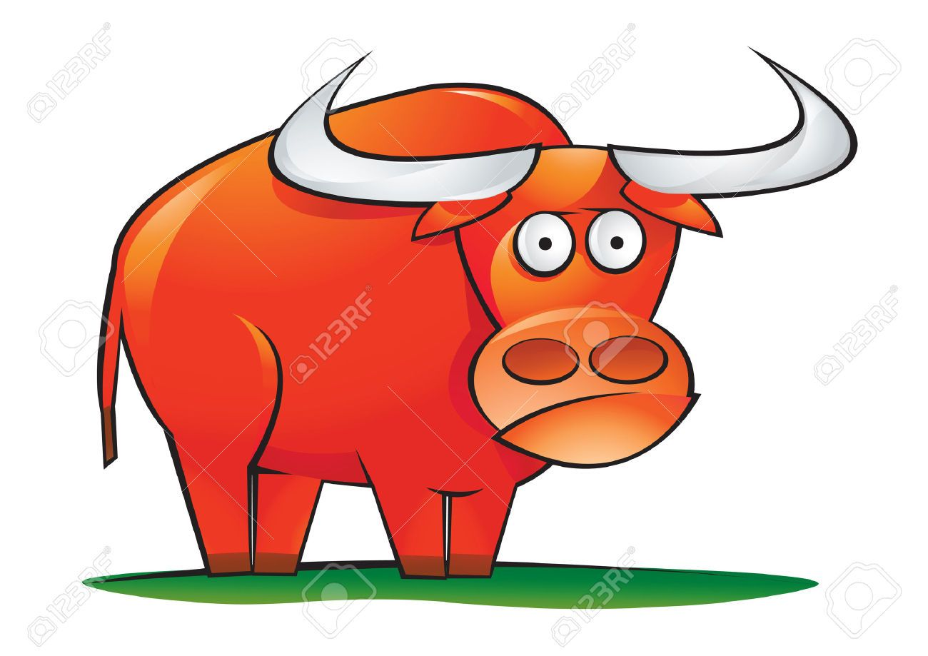 Clipart Of Cartoon Ox Google Search Bull Red Art Cowboy Art